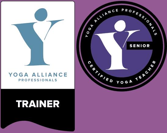 yoga alliance senior professional trainer